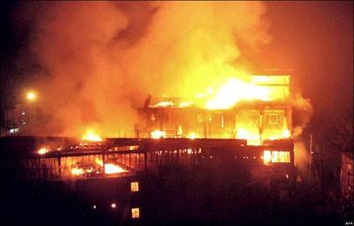 Dhaka factory fire burnt 2. File photo