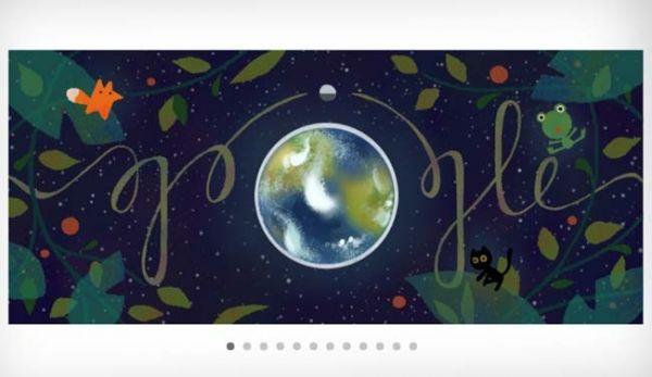 Google Doodle Celebrates Earth Day 2017