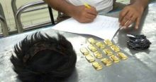 Customs find 13 gold bars from passenger's wig
