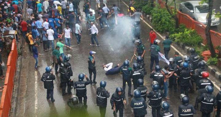 Shahbag clash: Police file case against 1,200