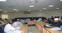 Meeting on Annual Performance Agreement held at UGC