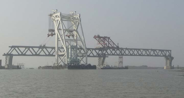 3de75d4bfc4 Second span of Padma Bridge installed | Foreign Relations | ABnews24