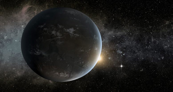 Artist's impression of 'Super-Earth.' NASA