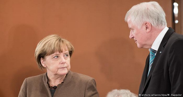 Merkel and Seehofer don't have much to say to one another these days, despite there being lots to talk about.