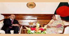 Indian envoy calls on PM
