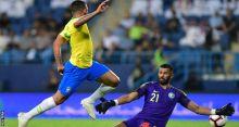 Gabriel Jesus score beats Saudi Arabia