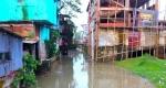 পেকুয়ায় ভরাট খাল দখল করে স্থাপনা নির্মাণ