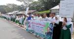 আগৈলঝাড়ায় জাতীয় নিরাপদ সড়ক দিবস পালিত