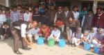 সেতাবগঞ্জ বিদ্যালয়ের পরিস্কার পরিচ্ছন্নতা কার্যক্রমের উদ্বোধন