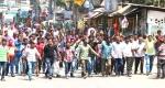 বান্দরবানে গাড়ি চালকের সাজার প্রতিবাদে শ্রমিকদের ধর্মঘট