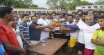 বাগমারায় কাবাডি প্রতিযোগিতার চ্যাম্পিয়ন শ্রীপুর ইউনিয়ন