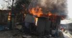 নোয়াখালীর বেগমগঞ্জে অগ্নিকান্ডে ৫টি বসত ঘর পুড়ে ছাই