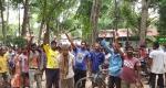কমলগঞ্জে ধলই চা বাগান ব্যবস্থাপকের অপসারণ দাবিতে শ্রমিকদের বিক্ষোভ