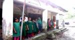 কাউখালীতে পরিত্যাক্ত দুই বিদ্যালয়ে মৃত্যুঝুঁকিতে শিক্ষার্থীদের পাঠদান