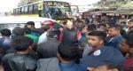 শৈলকুপায় থানা ওসিকে প্রত্যাহারের দাবিতে সড়ক অবরোধ