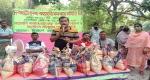 দেবহাটায় সমবায় সমিতির উদ্যোগে খাদ্যসামগ্রী বিতরণ