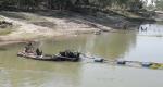 ধুনটে বাঙ্গালী নদীর খালে ড্রেজার বসিয়ে চলছে অবৈধ বালু উত্তোলন