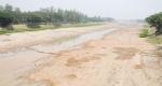 বদলগাছীতে ছোট যমুনা নদী এখন বালুচরে পরিণত