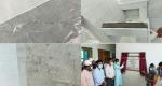 সালথায় মডেল মসজিদ নির্মাণে অনিয়ম, উদ্বোধনে অংশ নেওয়া অতিথিদের ক্ষোভ
