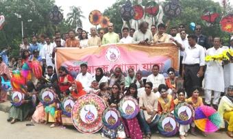 ঢাবিতে বাংলাদেশ ঈদ আনন্দ শোভাযাত্রা পালিত