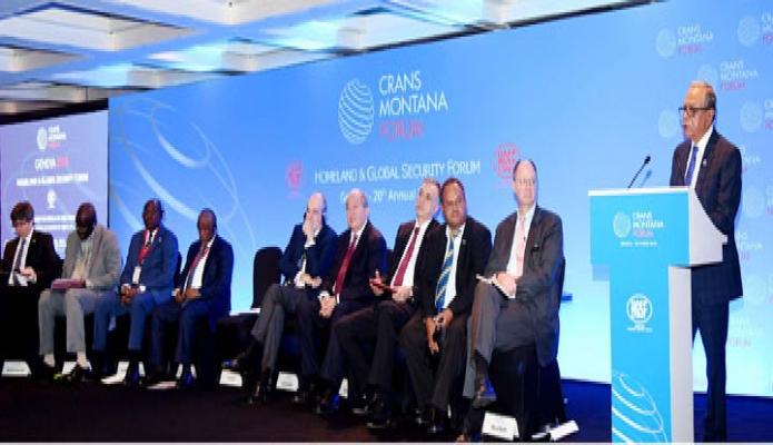 বৃহস্পতিবার রাষ্ট্রপতি মোঃ আবদুল হামিদ সুইজারল্যান্ডের জেনেভায় Hotel Kempinski Plenary Hall এ ! Homeland and Global Security Forum!  এর ২০তম সম্মেলনে বক্তব্য রাখেন-এবিনিউজ