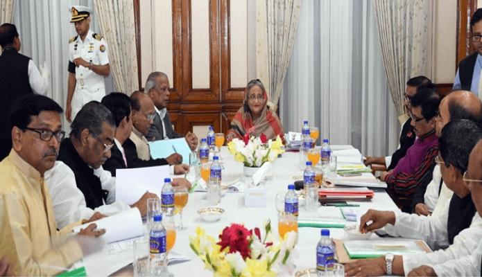 শুক্রবার প্রধানমন্ত্রী শেখ হাসিনা ঢাকায় গণভবনে স্থানীয় সরকার নির্বাচন মনোনয়ন বোর্ডের সভায় সভাপতিত্ব করেন -পিআইডি