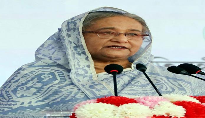 বৃহস্পতিবার প্রধানমন্ত্রী শেখ হাসিনা ঢাকায় মিরপুরে ২৮তম আন্তর্জাতিক প্রতিবন্ধী দিবস ও ২১তম জাতীয় প্রতিবন্ধী দিবস-২০১৯ উপলক্ষে আয়োজিত অনুষ্ঠানে বক্তৃতা করেন -পিআইডি