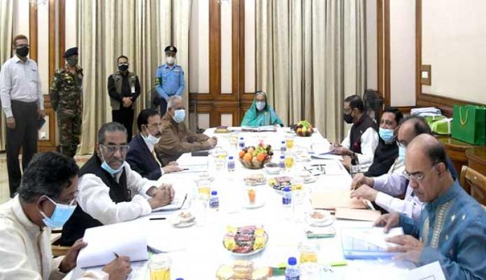 সোমবার প্রধানমন্ত্রী শেখ হাসিনা গণভবনে বাংলাদেশ আওয়ামী লীগের 'সংসদীয় বোর্ড' এবং 'স্থানীয় সরকার মনোনয়ন বোর্ড-এর সভায় সভাপতিত্ব করেন -পিআইডি
