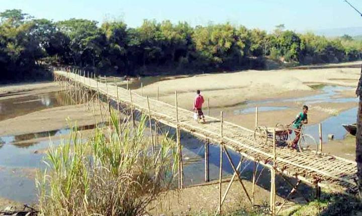 সুনামগঞ্জে খাসিয়ামারা নদীতে সেতু নির্মাণের দাবি