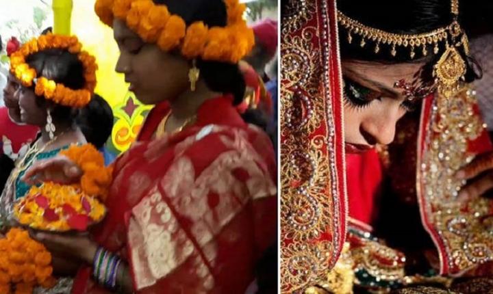 কুমিল্লায় ১৭ বছরের কিশোরের সাথে ২৭ বছরের যুবতীর বিয়ে