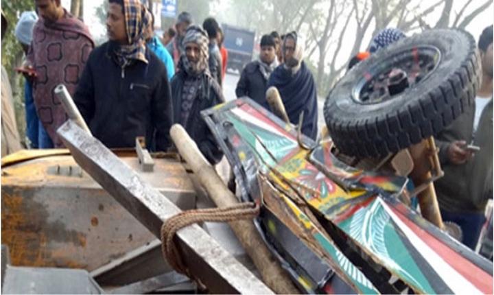 গোপালগঞ্জে বাস-নসিমন সংঘর্ষে পাঁচ শ্রমিক নিহত
